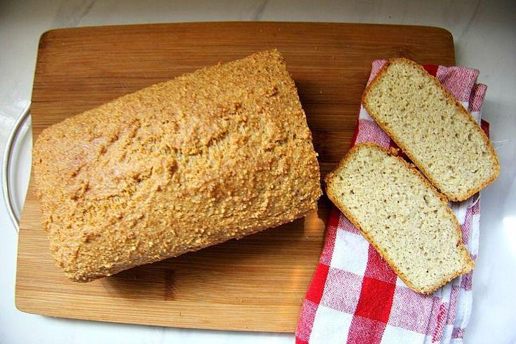 Кето-хлеб миндальный